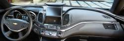 Chevy Impala dashboard with display in up position