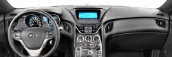 Hyundai Genesis Coupe dashboard