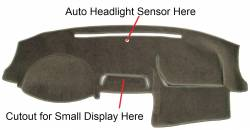 """Honda Accord dash cover """"B"""" version dashboard - With small display above center vents"""