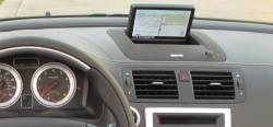 Volvo C70 dashboard version With Pop Up center display