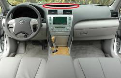 Camry Dash looks like this