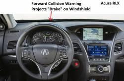 Optional Forward Collision Warning Projector
