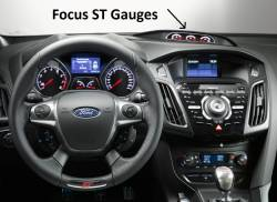Focus ST & RS - dash looks like this